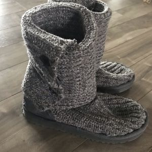 Ugg Cardy Boots Grey
